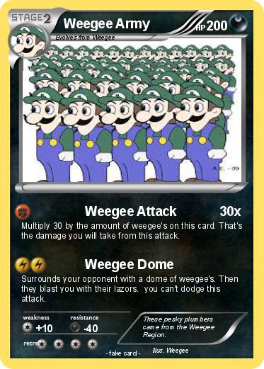 Pokemon Weegee Army