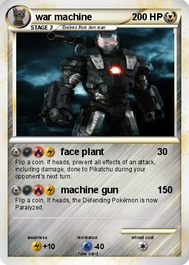 Pokemon war machine