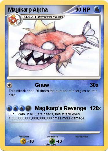 Pokemon Magikarp Alpha