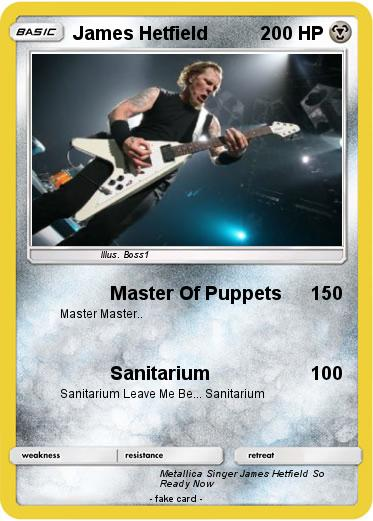 Pokemon James Hetfield