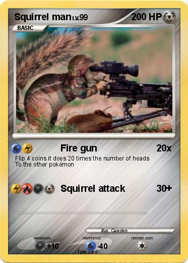 Pokemon Squirrel man