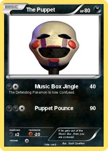 Pokemon The Puppet
