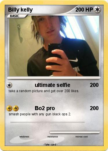 Pokemon Billy kelly