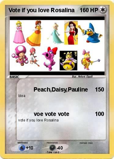 Pokemon Vote if you love Rosalina