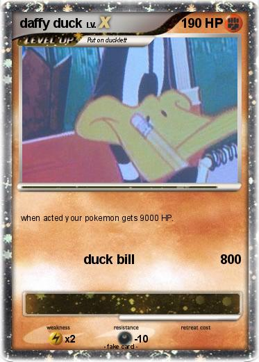 Pokemon daffy duck