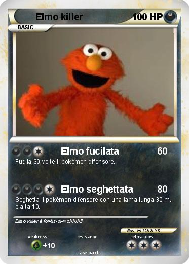 Pokemon Elmo killer