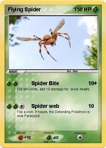 Pokemon Flying Spider