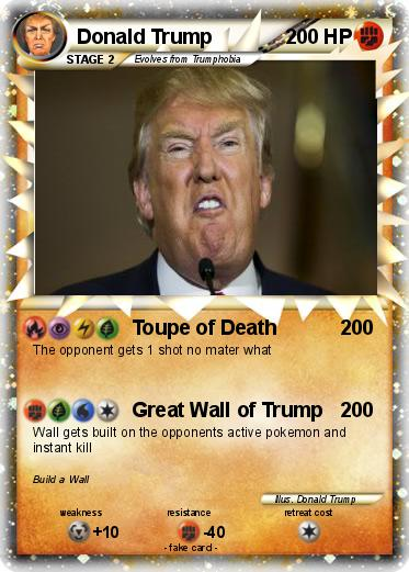 Pokemon Donald Trump