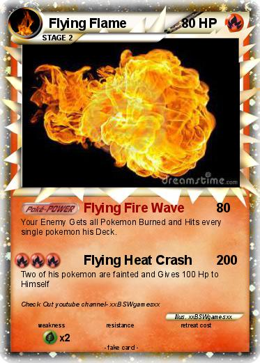 Pokemon Flying Flame