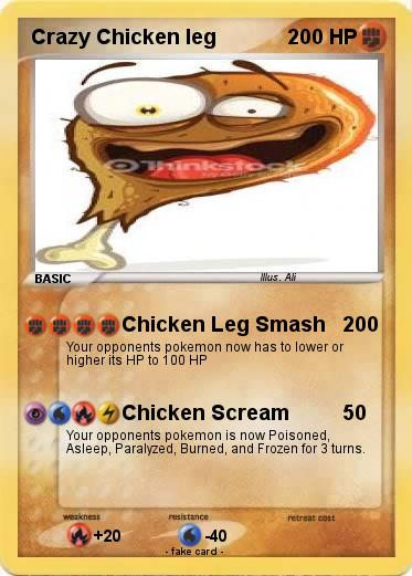 Pokemon Crazy Chicken leg