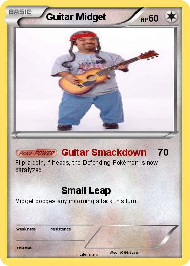 Pokemon Guitar Midget