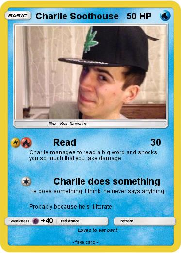 Pokemon Charlie Soothouse