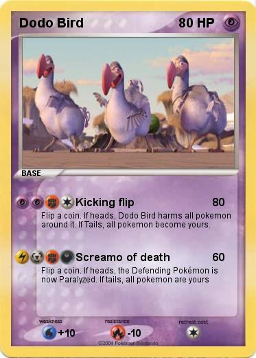 Pokemon Dodo Bird
