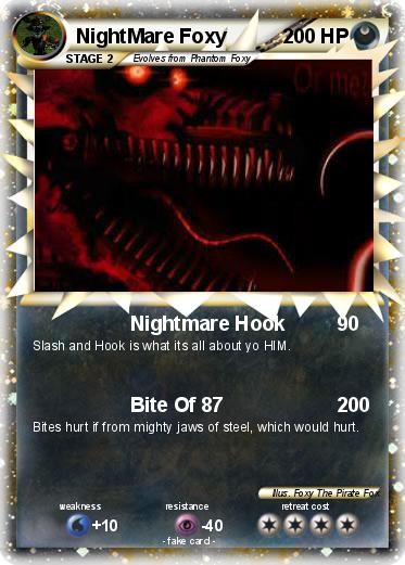 Pokemon NightMare Foxy