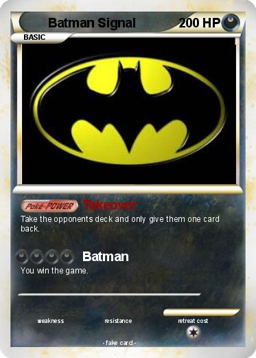 Pokemon Batman Signal