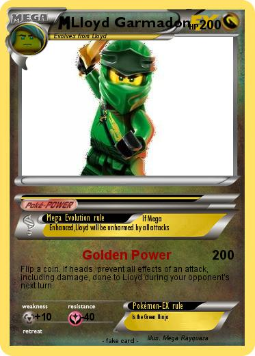 Pokemon Lloyd Garmadon