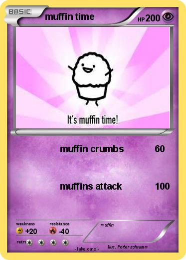 Pokemon muffin time