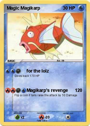 Pokemon Magic Magikarp