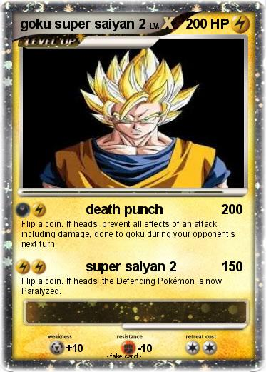 Pokemon goku super saiyan 2