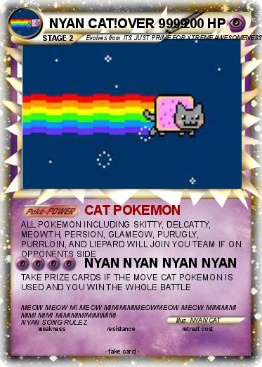 Pokemon NYAN CAT!OVER 9999