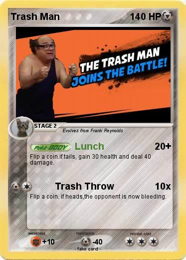 Pokemon Trash Man