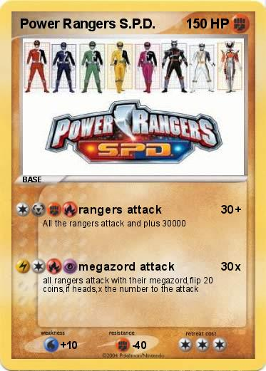 Pokemon Power Rangers S.P.D.
