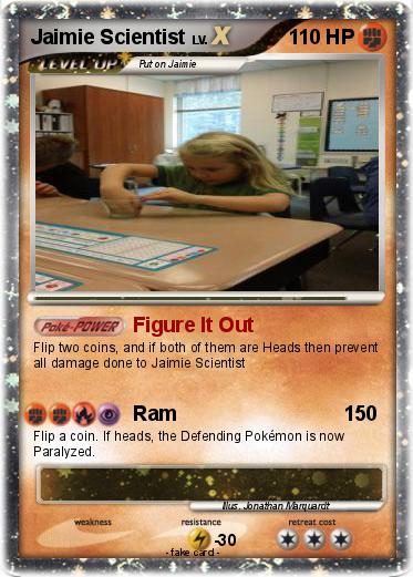 Pokemon Jaimie Scientist