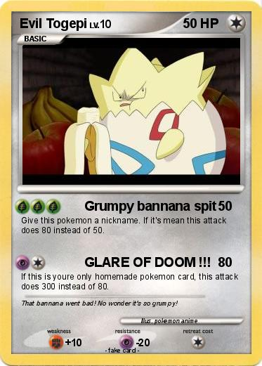 Pokemon Evil Togepi