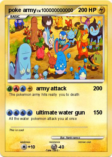 Pokemon poke army