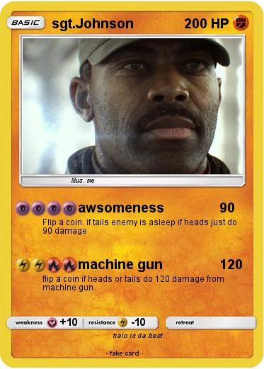 Pokemon sgt.Johnson