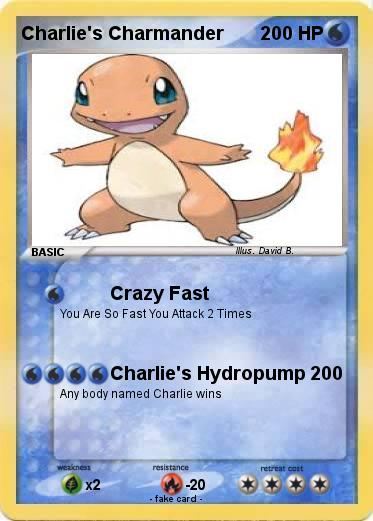 Pokemon Charlie's Charmander