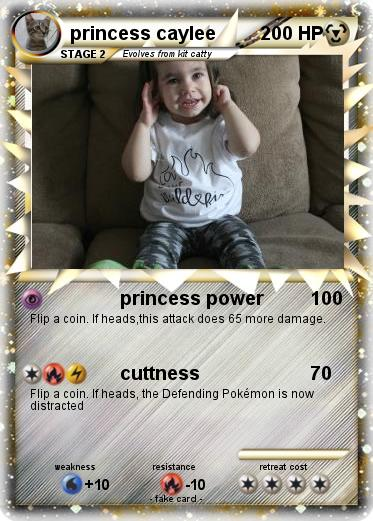 Pokemon princess caylee