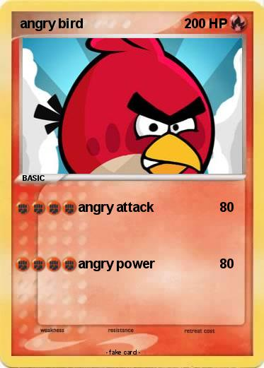 Pokemon angry bird