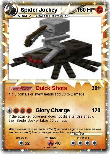Pokemon Spider Jockey