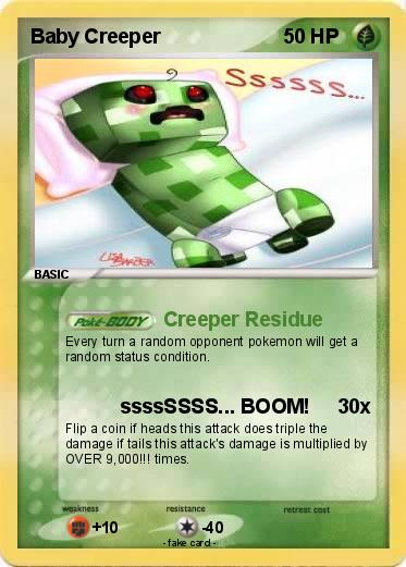 Pokemon Baby Creeper