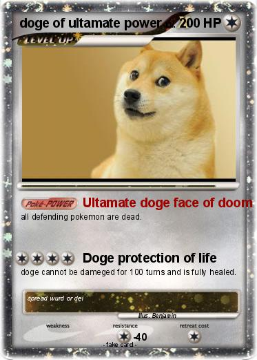 Pokemon doge of ultamate power