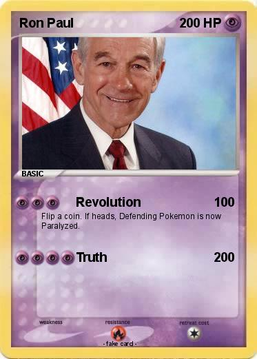 Pokemon Ron Paul
