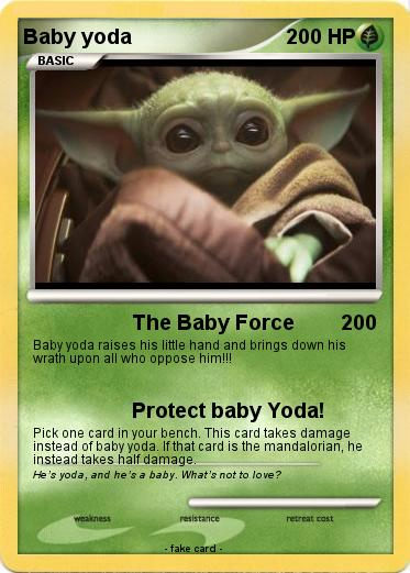 Pokemon Baby yoda