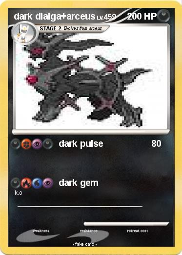 Pokemon dark dialga+arceus
