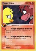 Foxy x Chica