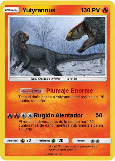 Pokemon Yutyrannus