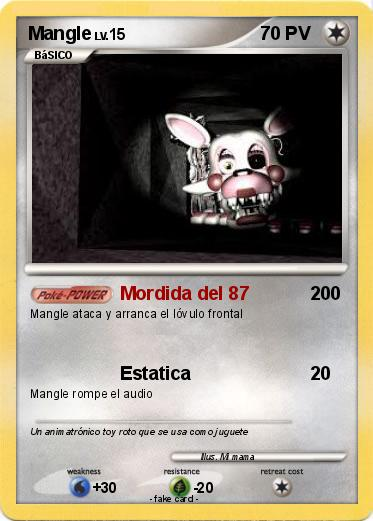 Pokemon Mangle