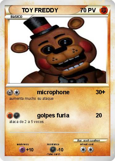 Pokemon TOY FREDDY