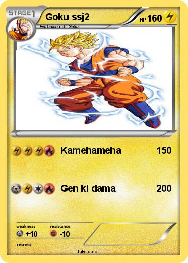 Pokemon Goku ssj2