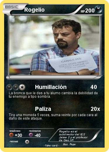 Pokemon Rogelio