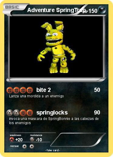 Pokemon Adventure SpringTrap