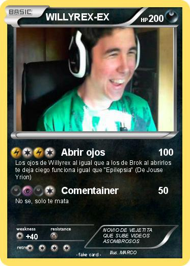 Pokemon WILLYREX-EX