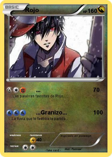 Pokemon Rojo
