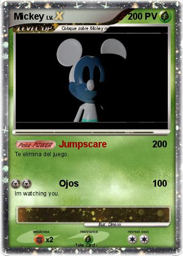 Pokemon Mickey