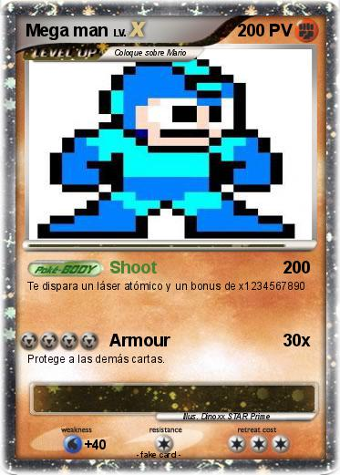 Pokemon Mega man